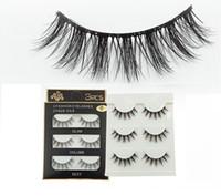 YENİ 3D Vizon Saç Yanlış kirpikler 33 Stiller El yapımı Güzellik Kalın Uzun Yumuşak Vizon Sahte Göz Lashes Kirpik Seksi Yüksek Kalite kirpikleri