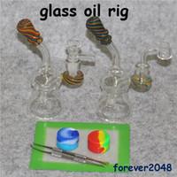 Verre Bongs Water Pipe Dab Oil Rig Rigs Double Honeycomb Perc Violet Cire Quartz Banger Heady Pipes Bong Heady Beaker Bubbler