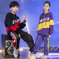 2019 Children Jazz Dance Clothing Boys Girls Street Dance Hi...