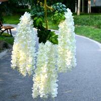 12 أجزاء الزهور 110 سنتيمتر مشفرة الزفاف زهرة الوستارية زهرة الديكور زهرة داخلي في الهواء الطلق الحقل حزب الديكور الزهور الاصطناعية