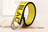200 centímetros Novos cintos de lona Designer para homens e mulheres Hip Hop Belt Rua Casual solta Strap cintura alta qualidade Belt