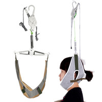Cou Arrière Masseur de tête Brancard Traction cervicale Étirement Vitesse Bride Dispositif de réglage Réglage du kit de soulagement de la douleur chiropratique Relaxation