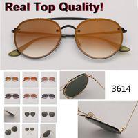 Ronda Círculo 3614 gafas de sol de las mujeres de Sun retro para mujeres marca de diseño Gafas de sol Mujer Oculos UV400 Gafas de sol Mujer