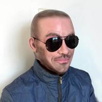 새로운 무료 배송 할로윈 파티 코스프레 유명인 데이비드 베컴 얼굴 마스크 라텍스 파티 실제 인간의 얼굴 마스크 멋진 현실적인 마스크