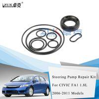 ZUK de alta calidad eléctrica reparación de la bomba de dirección Kit O-Ring Sello fijado para Honda Civic FA1 FD1 FD2 2006 2007 2008 2009 2010 2011
