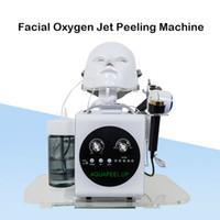 Nouveau visage peau rajeunissement soins de la peau dispositif d'électroporation aqua peeling machine pour salon de beauté utiliser Microdermabrasion