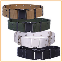 Military Equipment Cinturon Nylon Belts Men Buckle Canvas Be...
