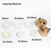 capping tampão mandril Máquina para capsulador 28-32mm 38 milímetros 10- 50 milímetros rodada garrafa de plástico com o anel de segurança de silicone capeamento