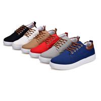 SOFT Brown rosso blu bianco nero grigio Style1 colorato basse Casual Shoes tagliate Mens Trainer design traspirante Sport Sneakers nuovo arrivo 39-44