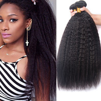 Ukisshair Silky Brazilian Kinky Straight Wave Virgin Hair We...