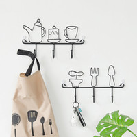 Wall Hooks Set Solid Color Plain Style Adorable Design Home ...
