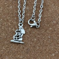 20pcs   lot Ancient silver Alloy Egyptian girl Charms Pendan...