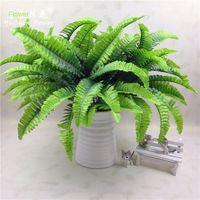 7 Fork 21 Ye pequeno Persia Folha Simulação Persia grama Simulação Flor Folha Fern Coloque Bundle Simulação parede planta