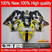 Bodys Pour HONDA CBR 929RR 900 929 RR CC 900cc 929CC 900RR 76HC.21 CBR929RR lumière jaune CBR900RR CBR929 RR CBR900 2000 2001 00 01 Carénage
