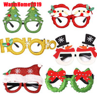 Happy New Year Decor 2019 Merry Christmas Party Glasses Sant...