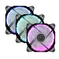 Syscooling 120 * 120 * 25 colores RGB ventilador de corriente continua de 12 V 20DB !!!