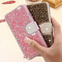 For iPhone 11pro MAX XS XR MAX X Gold Bling Sand Leather Cas...