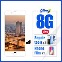 iphone 8 için Iphone 8 LCD Ekran Dokunmatik Sayısallaştırıcı Meclisi için Perakende vermek Tamir araçları filmi Fabrikası Değiştirme LCD