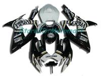ABS обтекатель набор для SUZUKI GSXR600 750 2006 2007 GSXR 600 GSXR 750 K6 06 07 глянцевый черный обтекатели комплект подарки Sp08