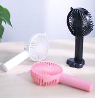 Mini USB вентилятор портативные портативные вентилядоры перезаряжаемые встроенные встроенные аккумуляторное батарея удобное воздушное охлаждение вентилятор для открытого домашнего офиса