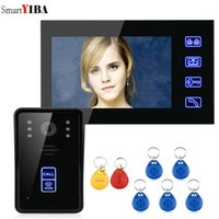 "SmartYIBA 7"" RFID Video Door Phone Intercom Doorbell To..."