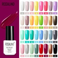 Marque Gel Set Polish Tous Manucure Semi Permanent Vernis Top Coat LED UV Gel Vernis Soak Off Nail Art Gel 58 Couleurs