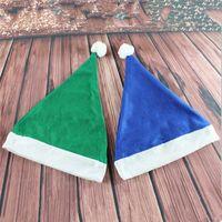 Дети Рождество Вязаные шапки Детские Санта-Клаус Вязание шапки Infant вязаная шапка Детские Xmas Hat Зимние шапочки карнавальные шляпы 5 цветов DH0125