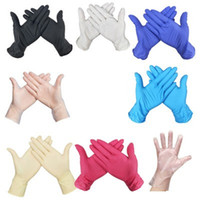 Одноразовые защитные перчатки многоцветные латексные перчатки для мытья посуды кухонные рабочие перчатки унисекс популярные продажи 0 34as H1