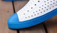 Hot Sale-валин Casual Men Jefferson Hole башмаков Бич обувь дышащий подносок Покрытие сандалии