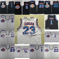Uzay Jam Tune Squad Jersey 23 Michael MJ Bugs Bunny LeBron Daffy Duck 1 3 Tweety Lola Bunny Taz Looney Tunes Bill Murray James Movie Jersey