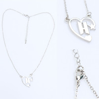 Kpop BTS Logo Heart Shape Chain Necklace Bangtan Boys Jimin ...