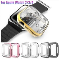 Electroplated iWatch Case Screen 8 Colors Protector Slim TPU...