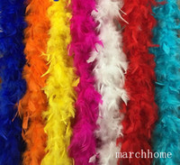2020 New Hot Selling Multiple Colour Marabou Feather Boa For...