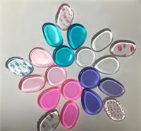 Esponja Blender esponja sopro beleza maquiagem Puff Flawless Beleza Fundação Látex DHL Livre Silisponge transparente claro silicone