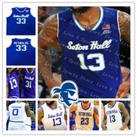 Personalizado 2021 Seton Hall College Basketball Jersey Myles Powell Quincy McKnight Jared Rhoden MamukelaShvili Romaro Gill Cale Reynolds 4xl