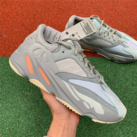 2019 Authentic 700 Inertia Grey Orange Kanye West Designer G...