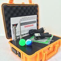 Barato E Nail Pelican Electric dab nail ENAIL controlador cera PID TC caja con titanio 10/16/20mm domeless con clavo de titanio
