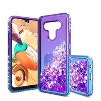 Для Motorola MOTO G STYLUS Phone Case для Samsung A21 A01 Luxury Gradient Liquid Quicksand Блеск Блестящая Алмазная Soft TPU задняя крышка