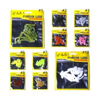 HENGJIA Artificial Soft Fishing Lure 10 pieces one Bag for J...