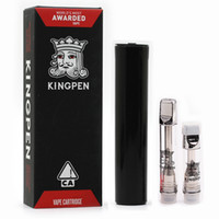 Kingpen 710 Cartridges E Cigarette Atomizers 0. 5ml 1. 0ml Cer...