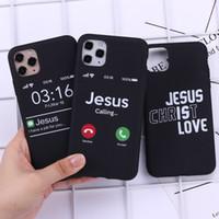 lüks tasarımcı İsa Hıristiyan Faith Çapraz Admire Telefon Kapak iPhone 11 Pro Max X XS XR Max 7 8 artı SE Yumuşak Silikon Kılıf
