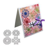 Flower Background Frame Craft Metal Cutting Dies for Scrapbooking DIY Album Embossing Folder Paper Card Maker Template Decor Stencils Crafts