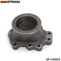 "EPMAN T25 T28 GT25 TurboCharge Downpipe 8 point 2.5 ""V-Band Ghisa Flange Collettore di scarico Collettore Adattatore EP-CGQ97"