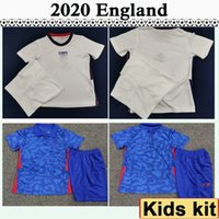 2020 Angleterre KANE Rashford STURRIDGE enfants Kit Football Maillots DELE Wilshere VARDY Domicile Extérieur Football Enfant T-shirt STERLING Lallana Jersey