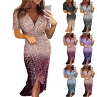 Sexy Kleid mit V-Ausschnitt Frauen-Kleidung 2018 Club Party Night Club Plus Size Frauen Vintage-Kleidung Gothic-Kleid-beiläufige