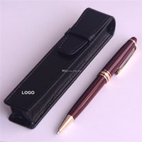 MB pen pouch case Masterpiece Burgundy Rollerball and ballpo...