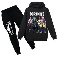 fortnite kids tracksuit fornite casual Children Suit cotton ...