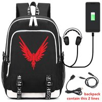 Mochila USB RUCKSACK BOLSAS ALAS Jake paul logan logang jp youtuber MAVERICK Two Color