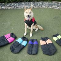 1PCS Pet temps froid Gilet Veste Gilet Chien Chien Bas Manteau chaud Vêtements pour animaux Manteaux Veste Outerwears 3XL 4XL 5XL