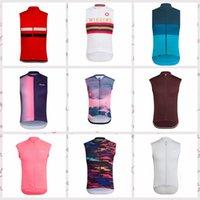 Rapha Takımı Custom Made Bisiklet Kolsuz Jersey Yelek erkek Rahat Giyilebilir Yaz Yakın Uydurma Açık Spor H042430